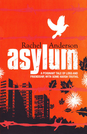 The cover of 'Asylum' by Rachel Anderson.