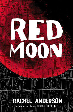 The cover of 'Red Moon' by Rachel Anderson.
